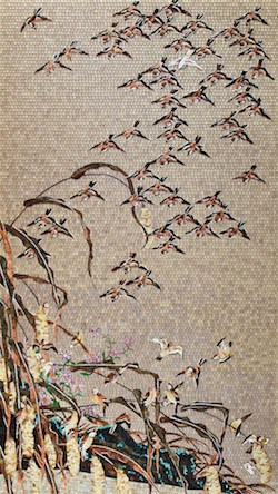Autumn Millet and Sparrows_w250