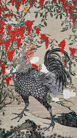 Nandina and Rooster_w250