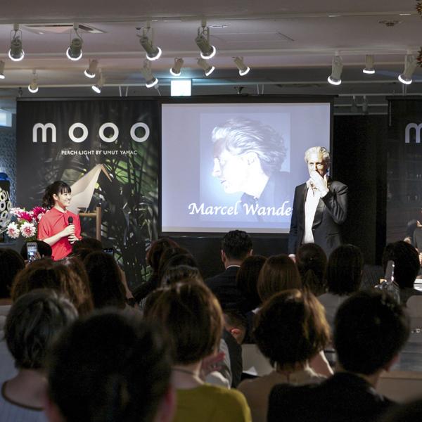 マルセル・ワンダースを招いた<br />クロストークパーティの様子を公開