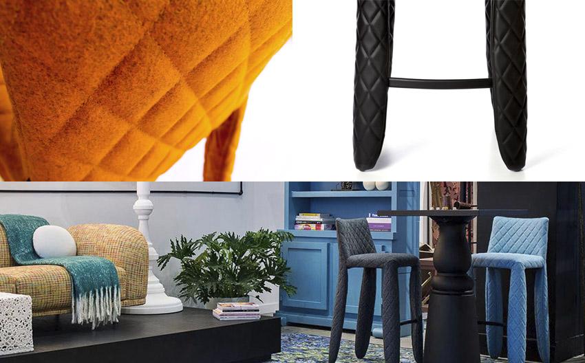 オランダのインテリアデザインブランド「moooi|モーイ」 モンスターバースツール ロー