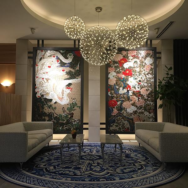 インテリア納入実例:四条高倉ホテル グランレブリー