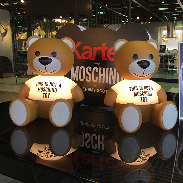 MOSCHINO×Kartellコラボレーション商品「トイ」入荷&パラレロシンク体験会開催 in名古屋