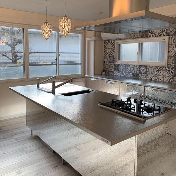 キッチン・インテリア納入実例:東京都A様邸改装工事