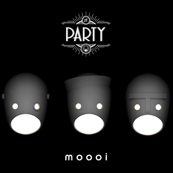 モーイ ウォールランプシリーズ「ザ・パーティー|The Party」発売