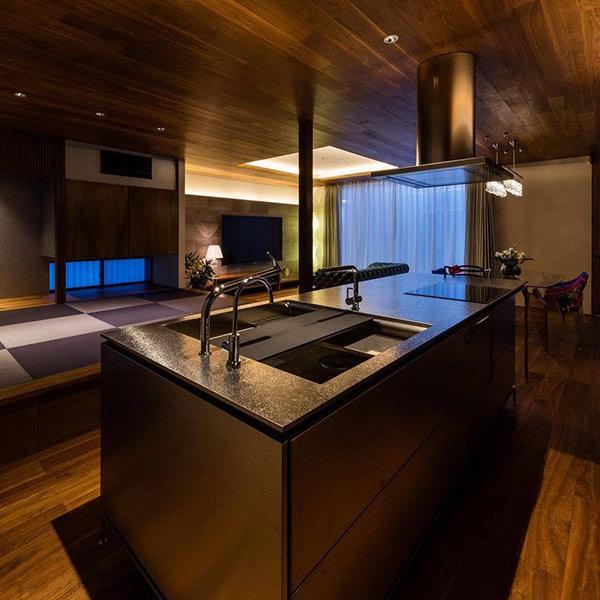 キッチン・インテリア納入実例:M様邸新築工事