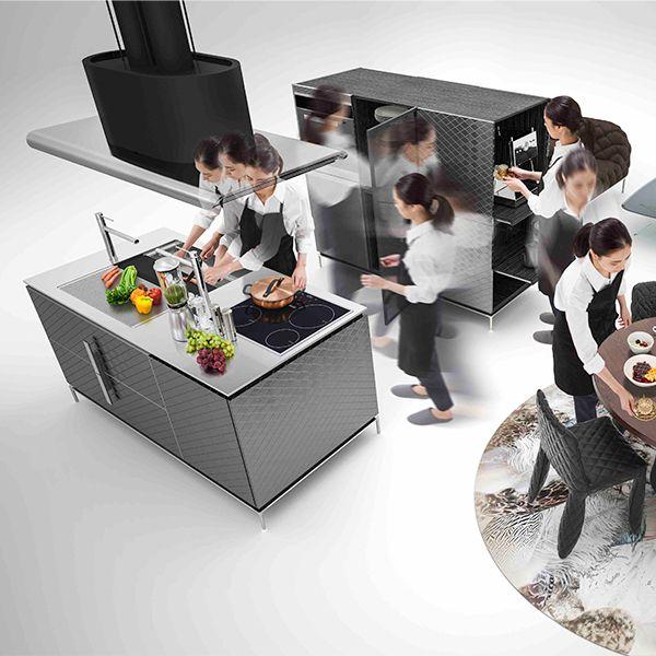 アイランドキッチンを知るなら、トーヨーキッチンスタイルを見に行こう。 Part.1