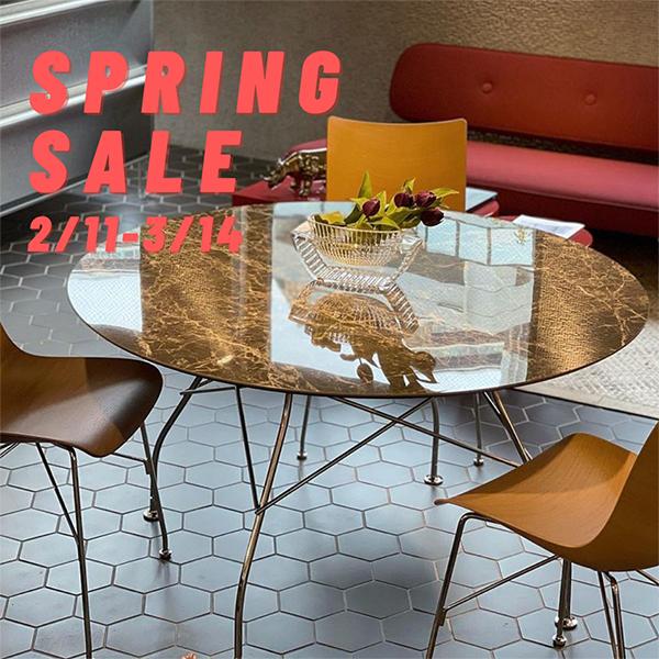 《スプリングセール》カタチも素材も革新的なKartellのテーブル